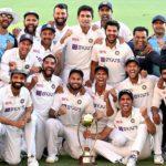 India wins at Gabba, 2020 Border Gavaskar Trophy
