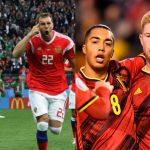 Russia and Belgium