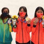 Momiji Nishiya, Rayssa Leal, Funa Nakayama