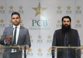 Misbah ul Haq and Wasim Khan