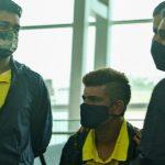 CSK depart for UAE